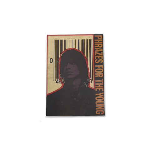 Julian Casablancas Barcode Phrazes for the Young Poster