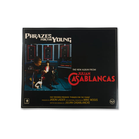 Julian Casablancas Retro Phrazes for the Young Poster