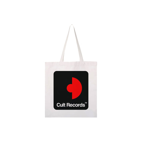 Cult Records Logo Tote (White)
