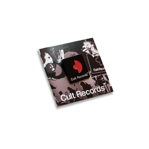 Cult Records Enamel Pin