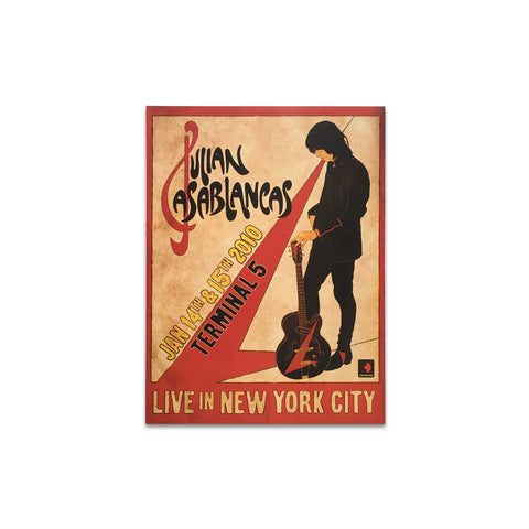 Julian Casablancas Retro Tour Poster