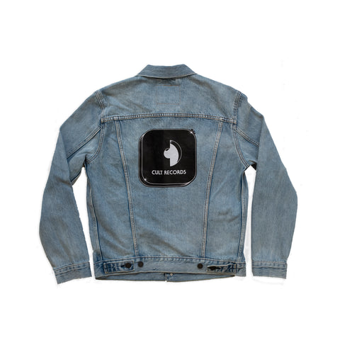 Levi's x Cult Records light wash denim jacket