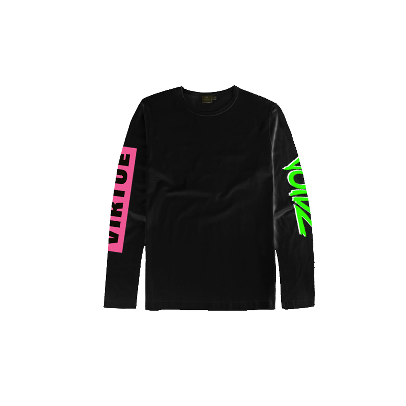 The Voidz Neon Pink Green Long Sleeve
