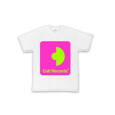 Cult Records Neon Tee