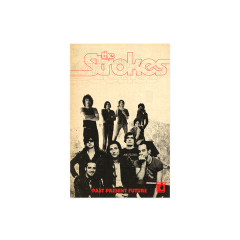 "Cult 10 Year Collection ""The Strokes"" Art Print"