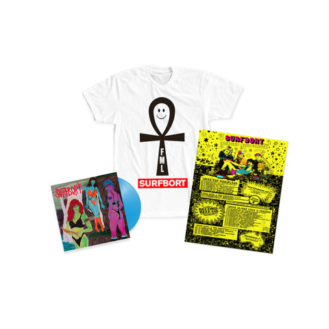 Surfbort 'Friendship Music' Bundle (Pre-Order) Short Sleeve
