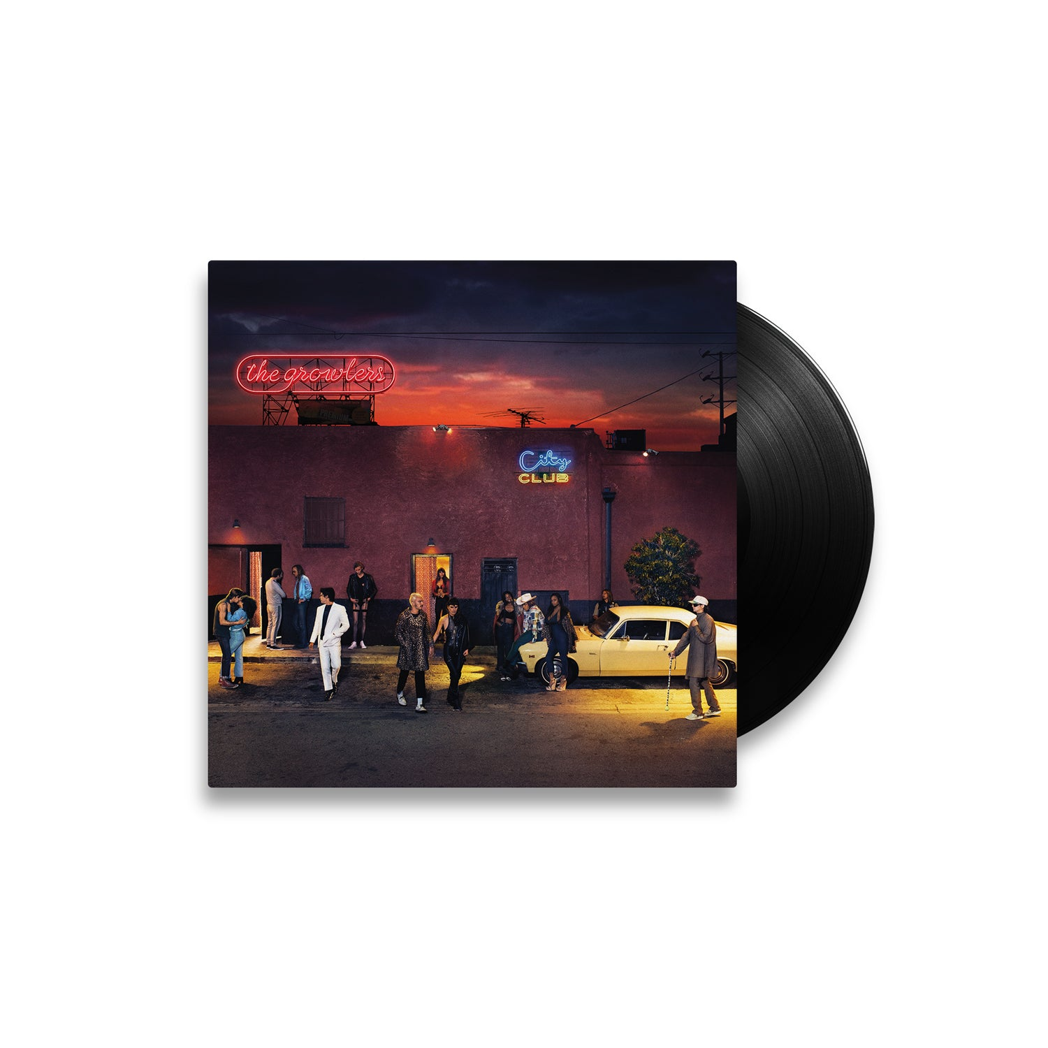 "The Growlers 'City Club' 12"" Vinyl LP"