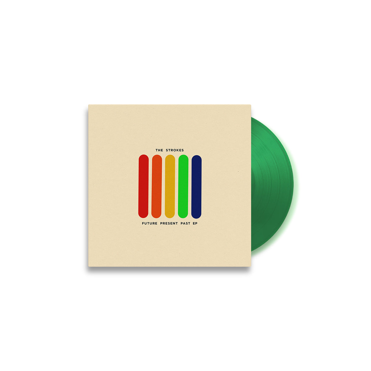Limited Edition The Strokes 'Future Present Past' Green Vinyl 10""