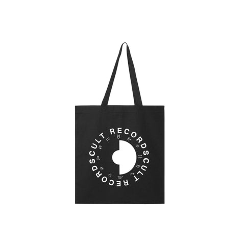 Cult Records Logo Tote (Black)