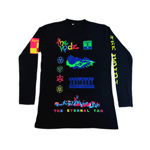 LIMITED EDITION VOIDZ / TERRIBLE BLACK LIGHT LONG SLEEVE TEE