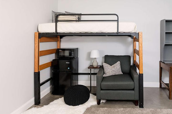 Loft with Bed Rail - Baylor