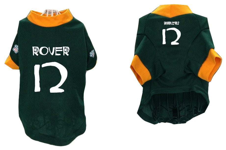 Pet Athletic Wear (PAW) Pet Jersey (#12-Rover, Barkers)