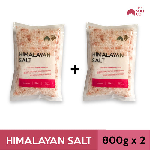 ✦Bundle Deal✦ The Solt Co. Himalayan Salt (Coarse) 800g x 2 Packs