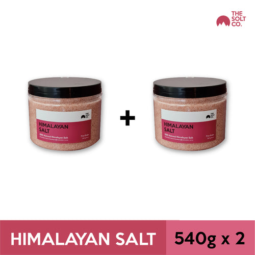 ✦Bundle Deal✦ The Solt Co. Himalayan Salt (Fine) 540g x 2
