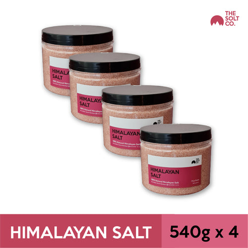 ✦Bundle Deal✦ The Solt Co. Himalayan Salt (Fine) 540g x 4