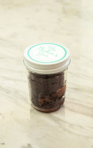 Ooey Gooey Chocolate Cake Jar