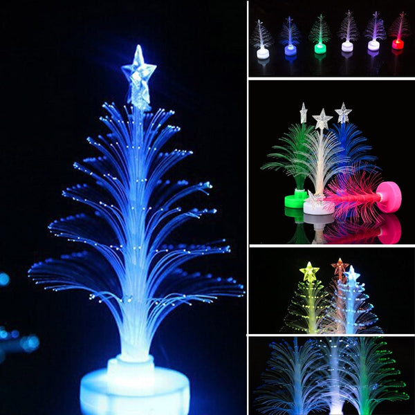 Mini Arbre de Noël Changeant de Couleur LED - Décoration de Noël