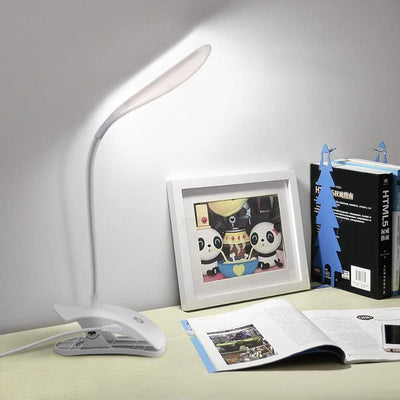 Dimmable USB Touch LED Lamp - Bedside Clip Reading Night Light