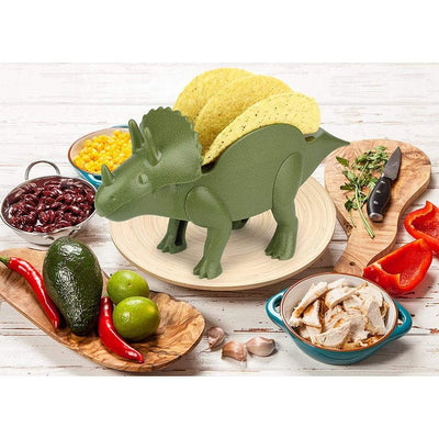 Dinosaur Taco Holder Stand - Dinosaur Storage Holder
