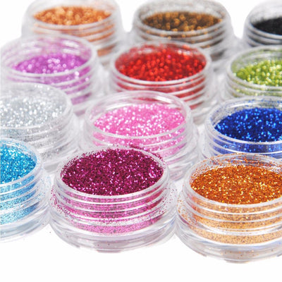 gel powder nails nail pigment powder nail polish  silver chrome nails mirror chrome nails pigmented glitter nail polish