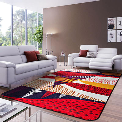 bright coloured rugs, multi coloured carpet, decor rugs, area rugs, floor rugs, red rugs for sale, red rug, Red Area Rugs, red floor rug, hallway rugs, living room rugs, discount area rugs, Red Area Rugs - Red Floor Rug, Luxury Decor Rug - Multi Coloured Rug