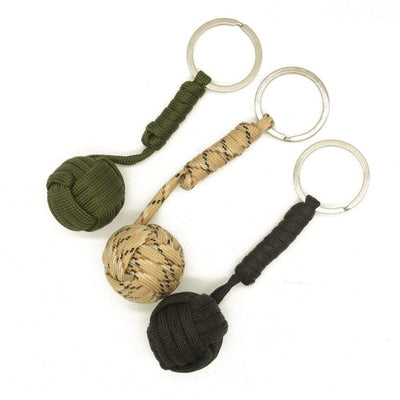 Buy 1 Get 1 Key Chain Monkey Fist Knot