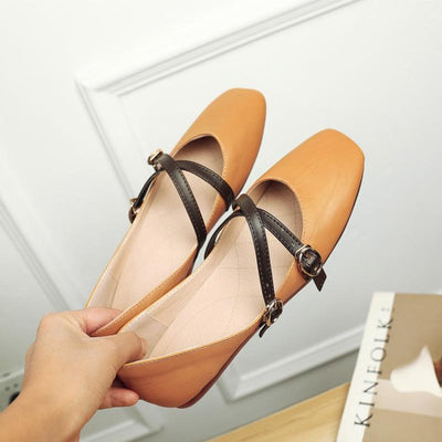 Flat Shoes For Women - Narrow Shoes 3