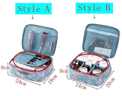 Large Capacity Travel Makeup Bag - Makeup Organiser