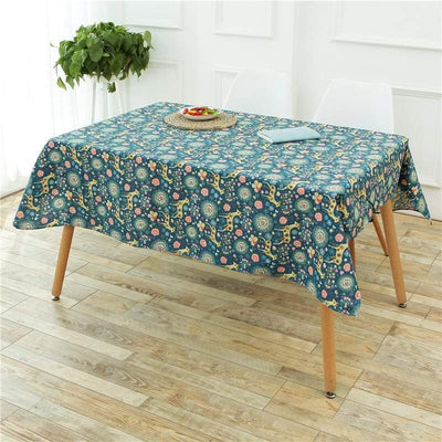 Oilcloth Tablecloth - Dining Table Cover