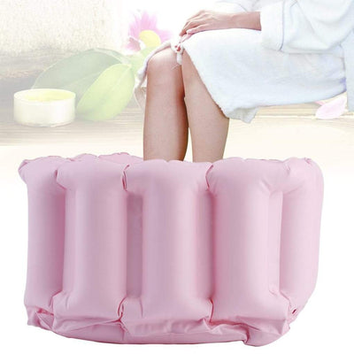 Inflatable Foot Basin For Pedicure Care - Home Use Feet Soak