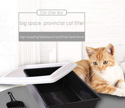 Cat Litter Box - Anti-Splash Cat Toilet