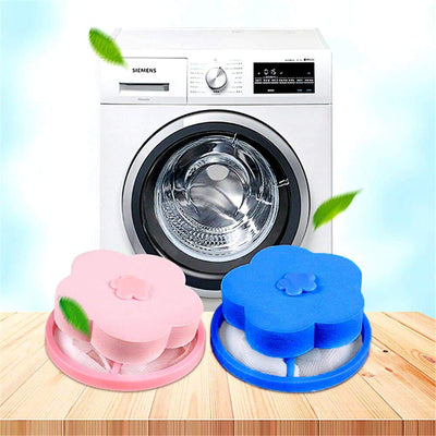 8Pcs Floating Pet Fur Catcher - Washing Machine Hair Catcher