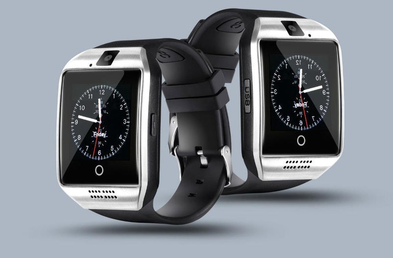 Montre Intelligente avec Appareil Photo - Bluetooth IOS et Android