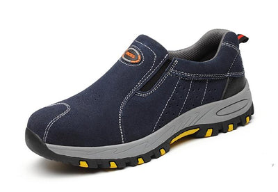 Best Steel Toe Work Shoes For Men - Slip-on Safety Shoes