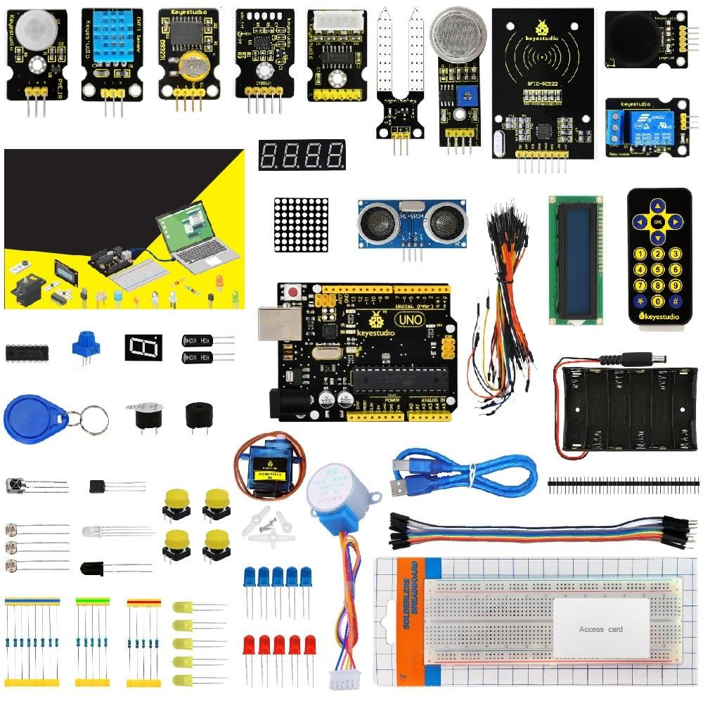 Ultimate Electronics Starter Kit - UNO R3 - With 32 Projects