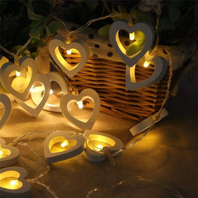 LED Heart String Lights- Christmas Decorations