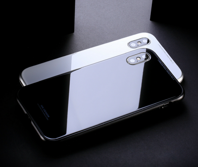 Magnetic Phone Case - Tempered Glass