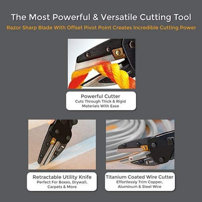 metal cutting tools, multi cutter, multicut tool, 3 in 1 Power Cutting Tool - Multicut Tool