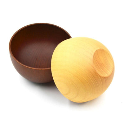 wooden fruit bowl, rustic wooden fruit bowl, wooden salad bowl, wooden bowls, decorative bowls, handmade wooden bowls, 10 Pcs Handmade Wooden Bowls - Wooden Fruit Bowl