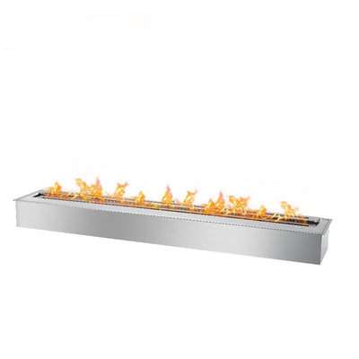 "48"" Bio Flame Ethanol Stainless Steel Fireplace Burner"