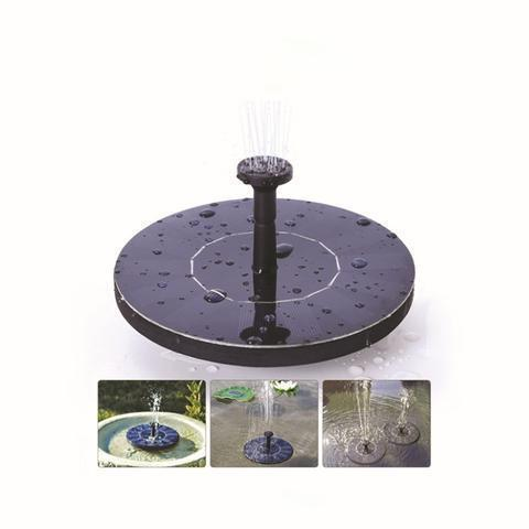 Floating Solar Powered Water Fountain - Garden Birdbath