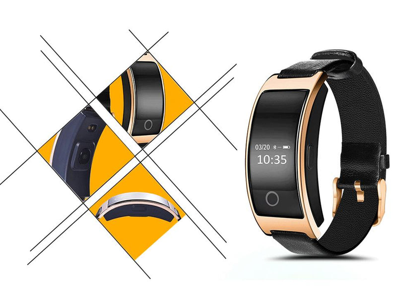 Heart Rate Watch - Fitness Bluetooth Activity Monitor