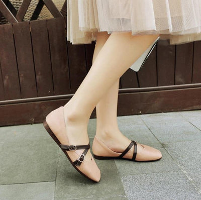 Flat Shoes For Women - Narrow Shoes 5