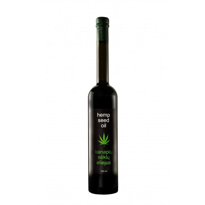 Hemp seed oil (500ml)