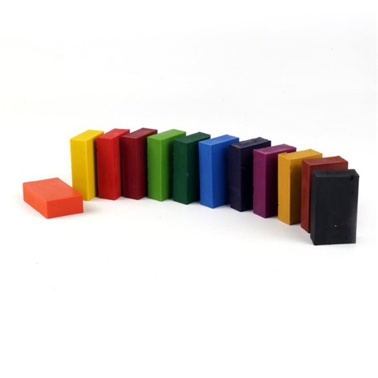 Wax blocks nawaro 12- color set