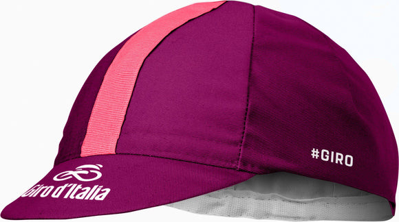 CASTELLI GIRO CYCLING CAP - WINE