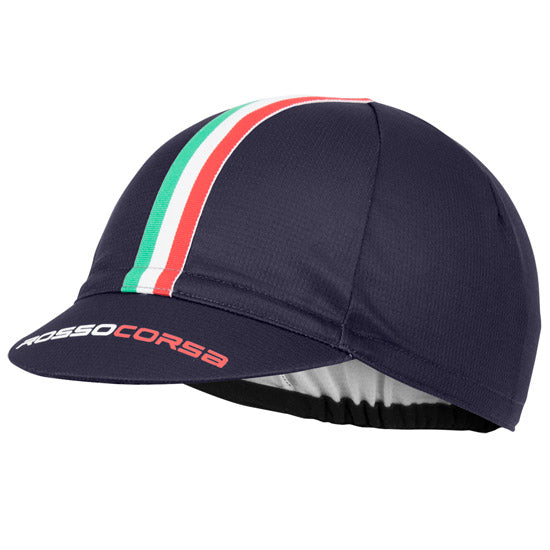 Castelli Rosso Corsa Cycling Cap - Blue