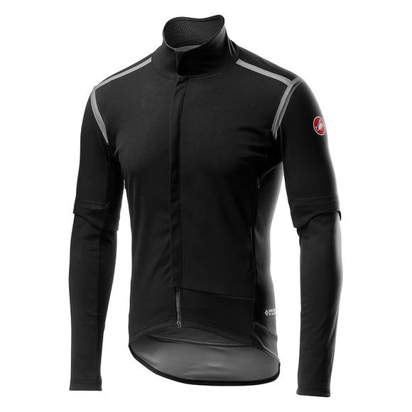 CASTELLI Perfetto Ros Convertible Jacket - Light Black