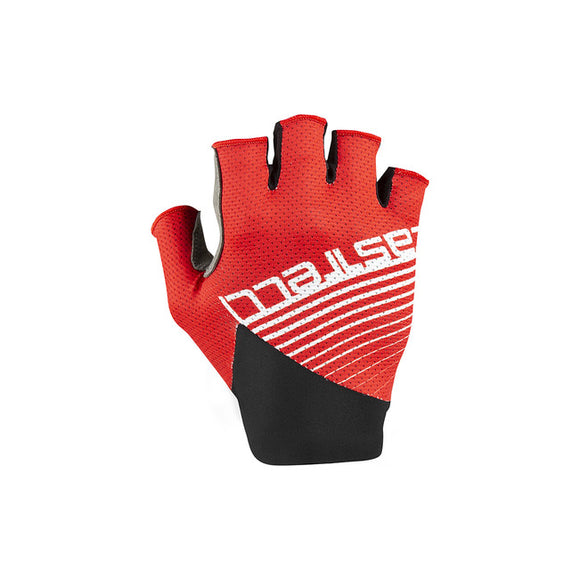 CASTELLI Competizione Glove Short Finger - RED