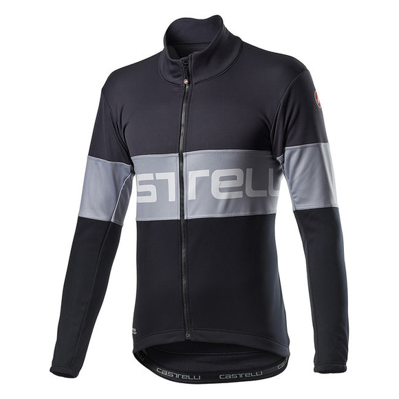 CASTELLI Prologo Jacket - Vortex Gray Light Black